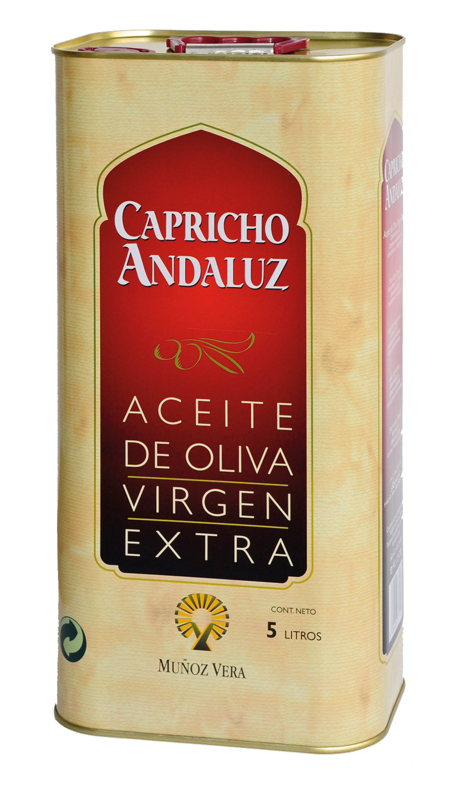 Branding y Packaging aceites Capricho Andaluz