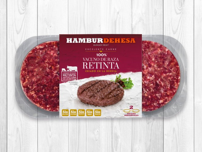 Pack hamburger race retinta