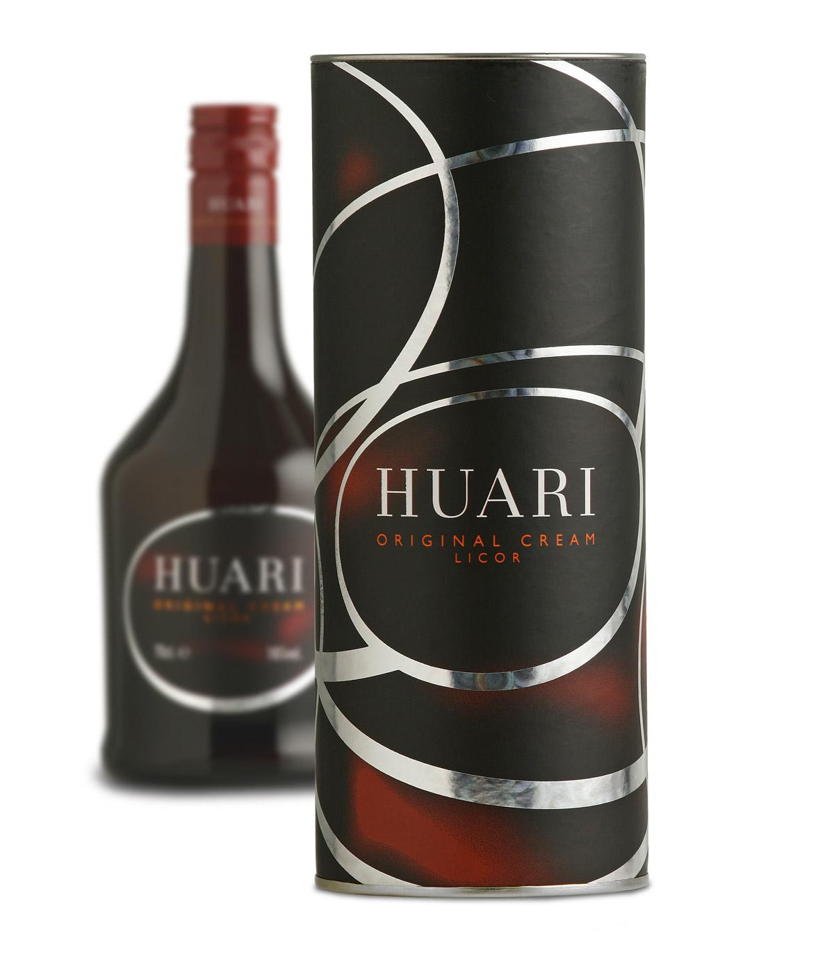 Diseño de Packaging y canister Crema HUARI