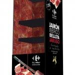 nevera jamón cortado a cuchillo Carrefour
