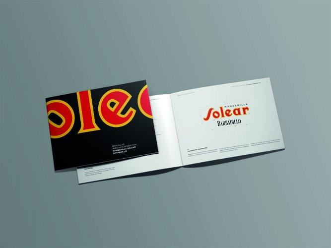 Diseño de Manual corporativo Solear