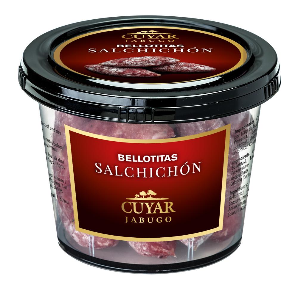 Bote bellotitas salchichón Cuyar