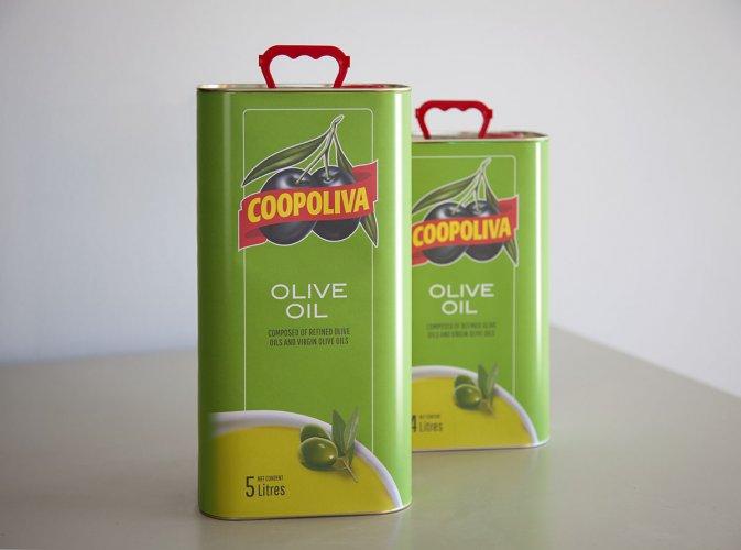 Latas aceite de oliva Coopoliva