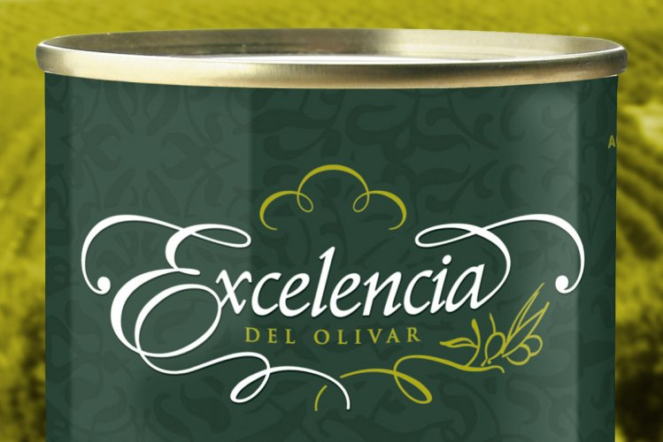 Branding y Packaging aceitunas Excelencia