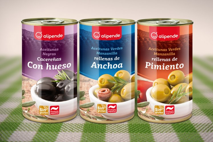 Packaging collection Alipende olives