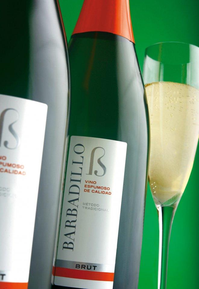 Diseño de branding y packaging para vino espumoso Barbadillo