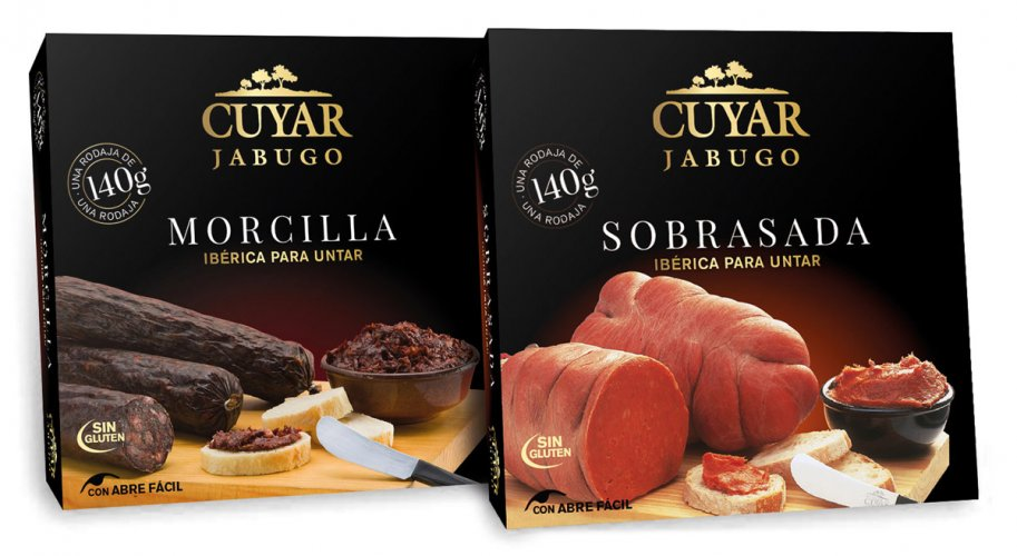 Design of boxes for sobrasada and blood sausage Cuyar