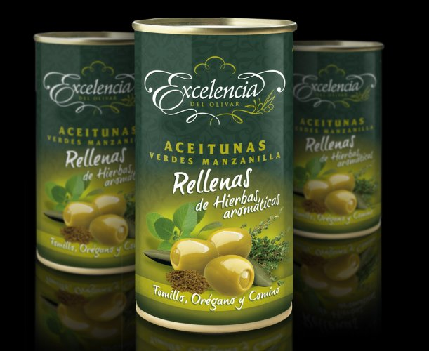 Branding and Packaging olives Excellence