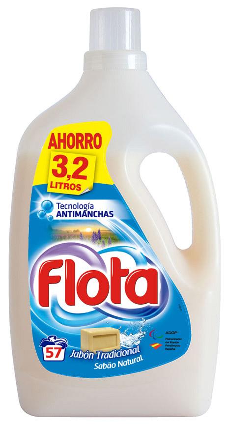 Detergente líquido Flota