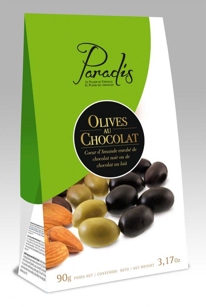 Estuche Olives au Chocolat Paradis
