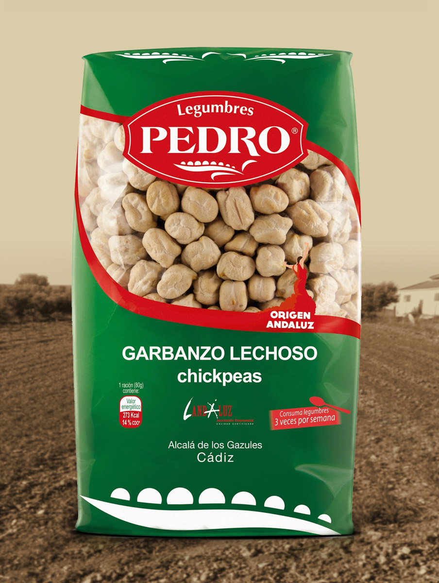 Branding y Packaging legumbres Pedro