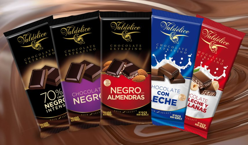 Packaging chocolates Valdélice