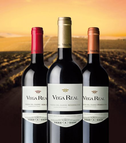 Redesign of labels Vega Real wineries