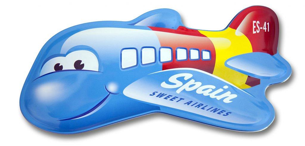 diseño de latas especiales aviones infantiles