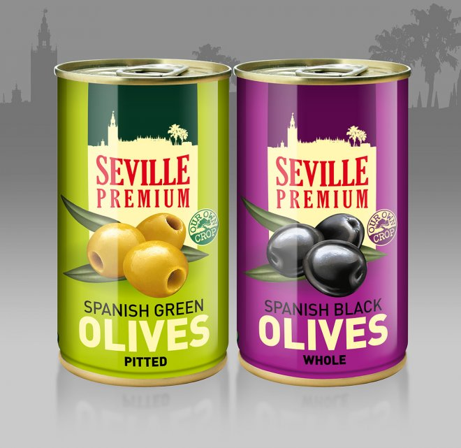 Sevilla Premium negras