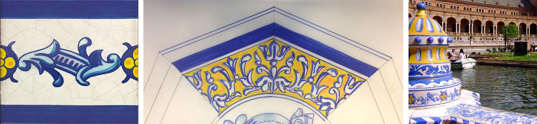diseño de latas especiales boceto azulejo