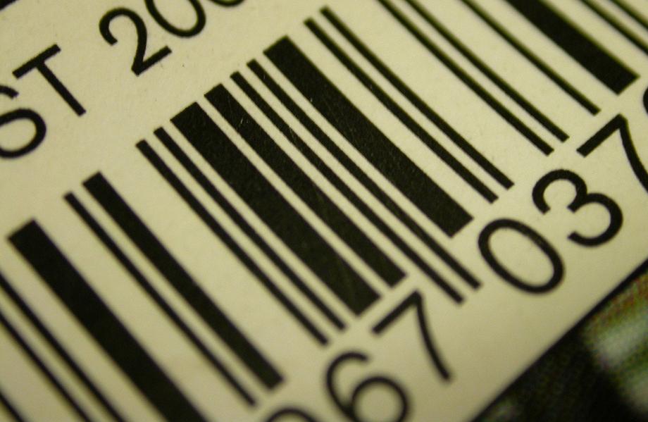 Códigos de barras etiquetas
