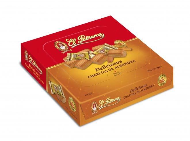Diseño de caja de Deliciosas para El Patriarca