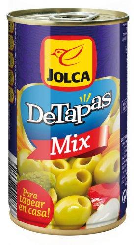 Diseño de branding y packaging Detapas Mix Lata