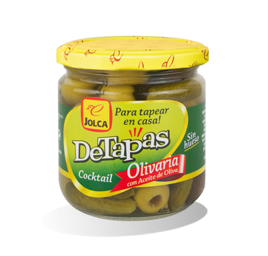 Diseño de branding y packaging Detapas Olivaria