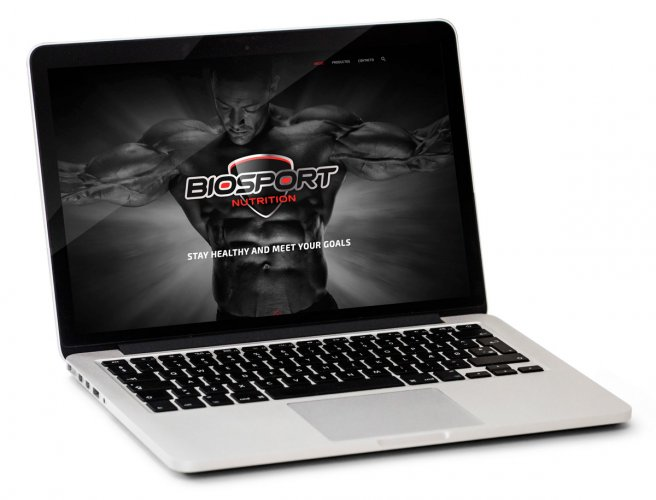 Biosport diseño web