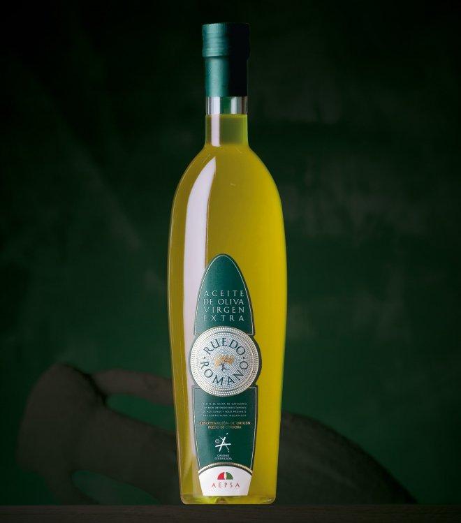 Aceite de oliva virgen extra Ruedo Romano selección gourmet