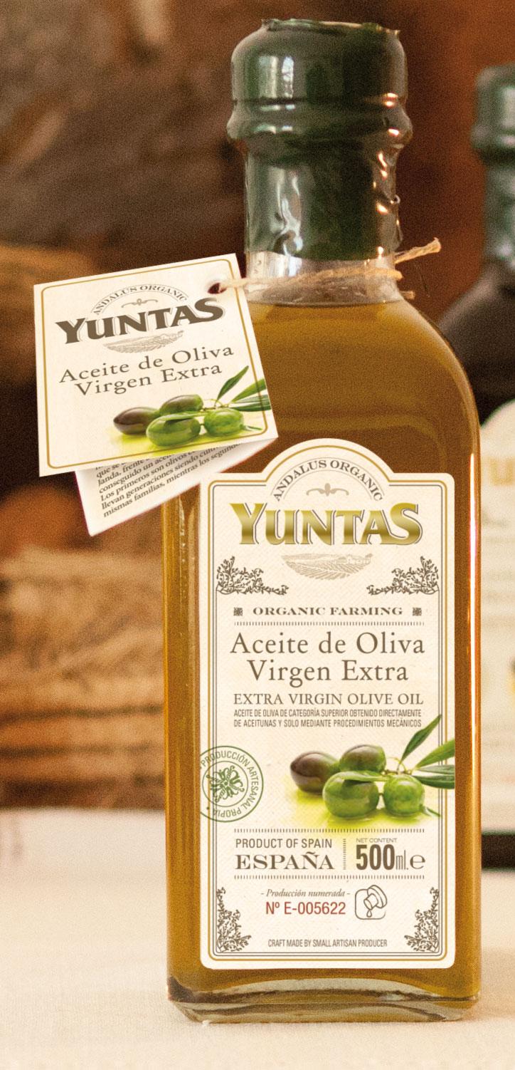 Yuntas Aceite de Oliva Virgen Extra Gourmet