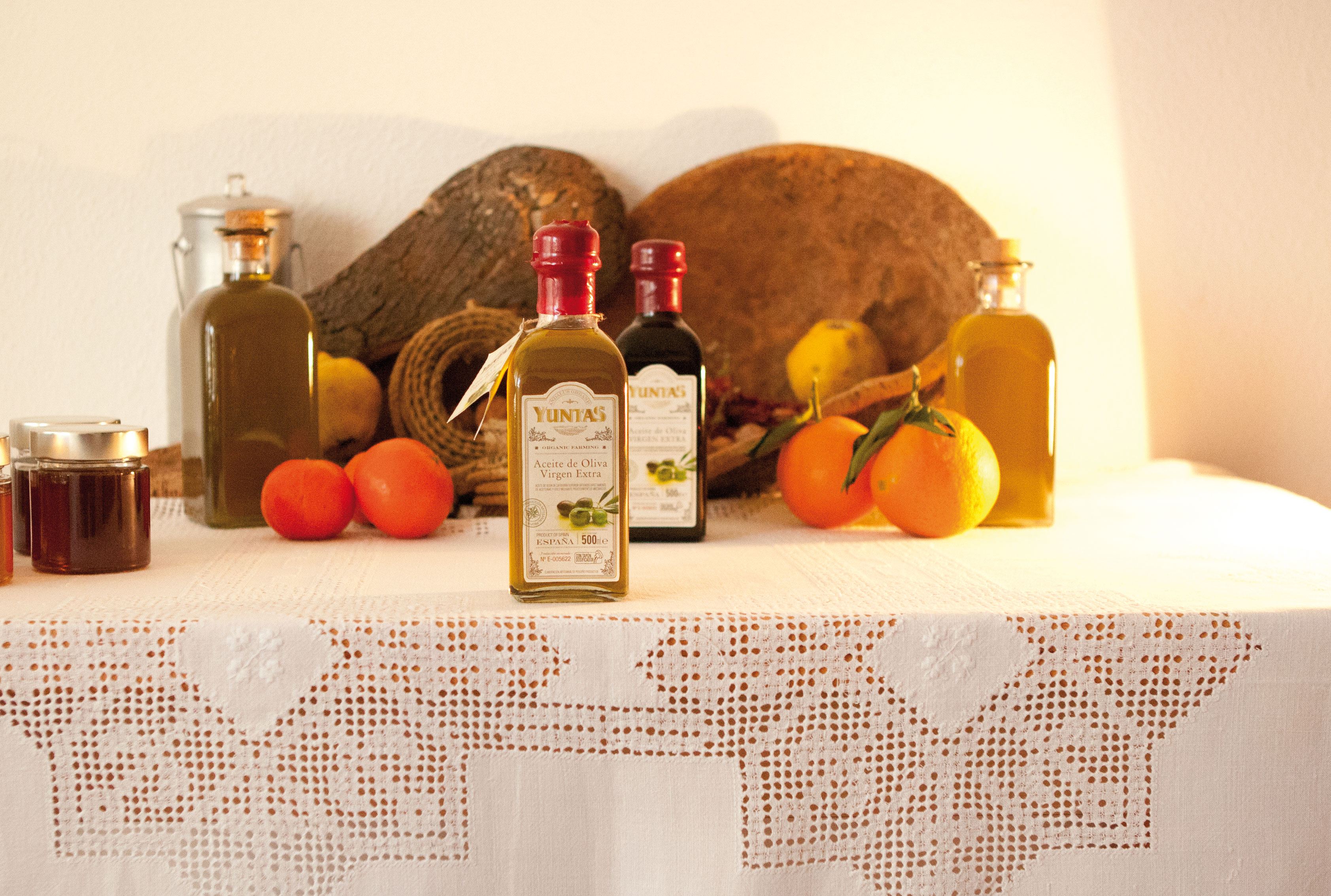 Yuntas aceite de oliva gourmet