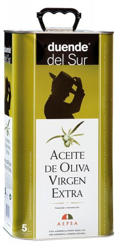 Lata aceite de oliva virgen extra Duende del Sur