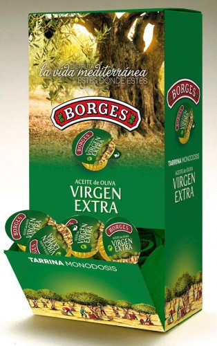 Extra virgin olive oil single dose Borges