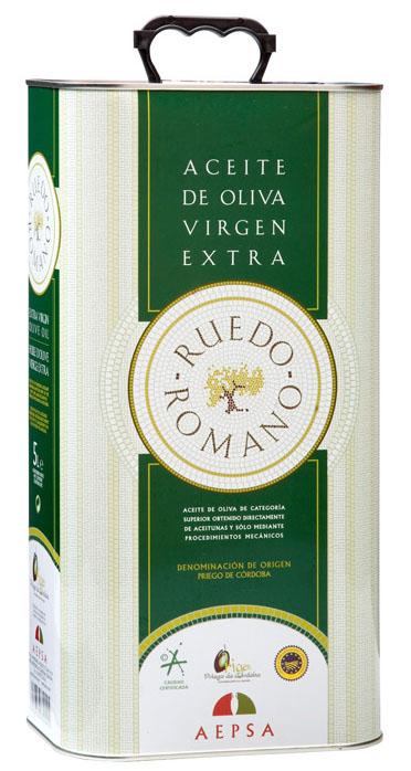 Lata aceite de oliva virgen extra Ruedo Romano
