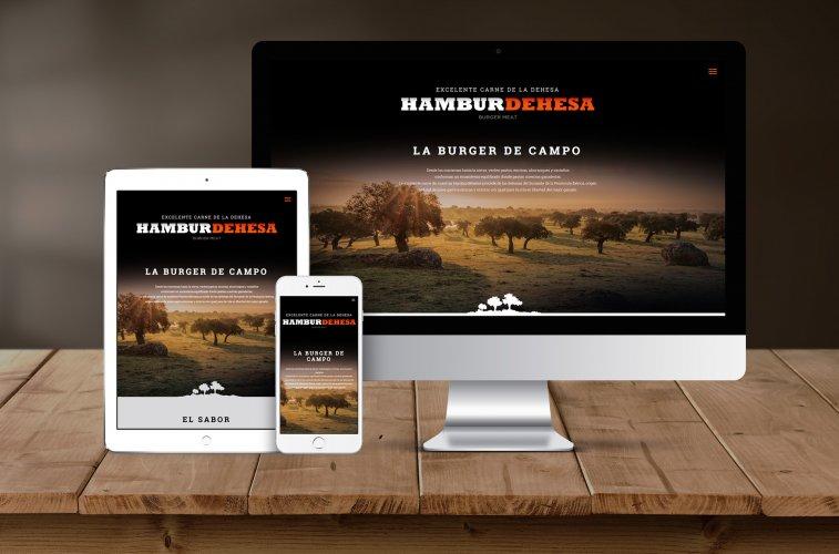 Diseño web Hamburdehesa