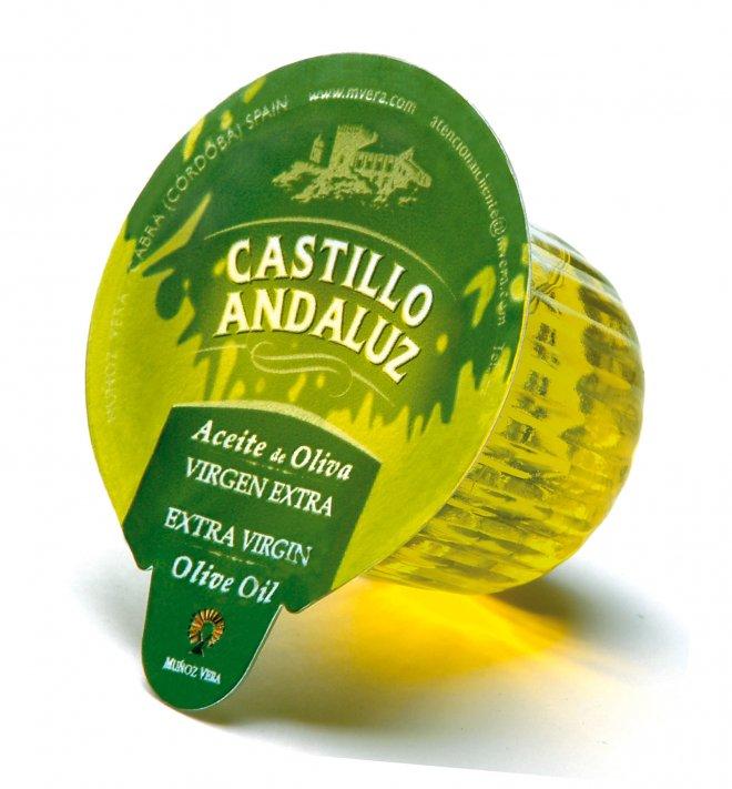 Monodosis aceite de oliva virgen extra Castillo Andaluz