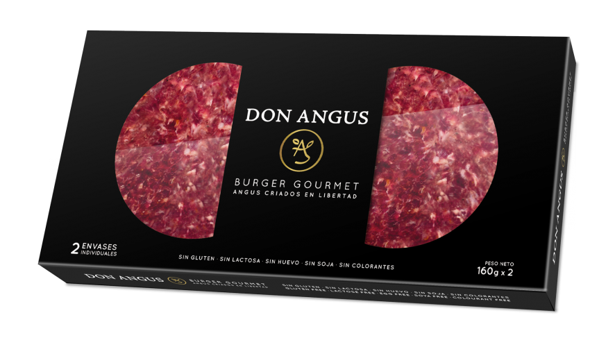 Hamburguesas Don Angus packaging