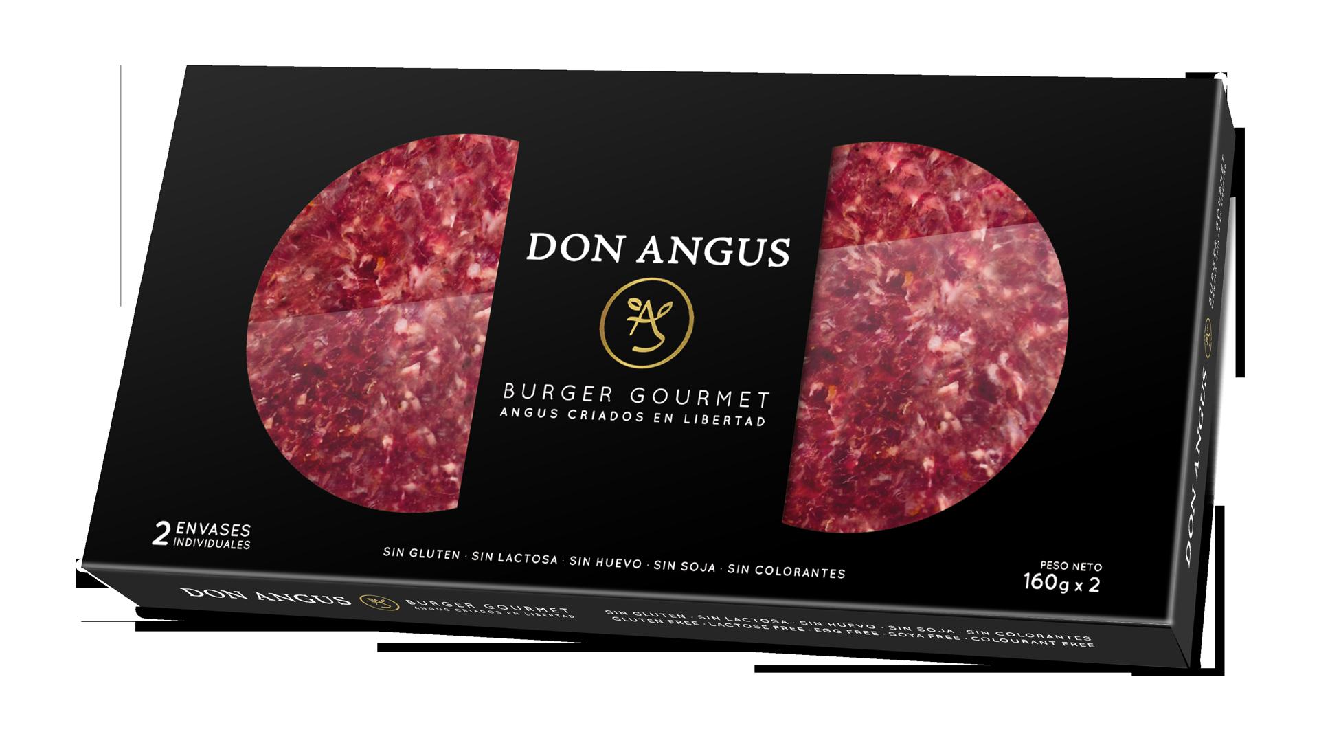Hamburguesas Don Angus packaging