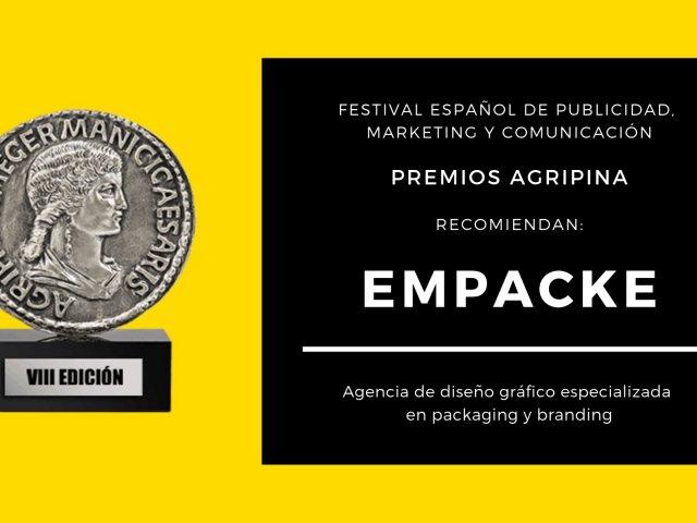 Los Premios Agripina recomienda Empacke