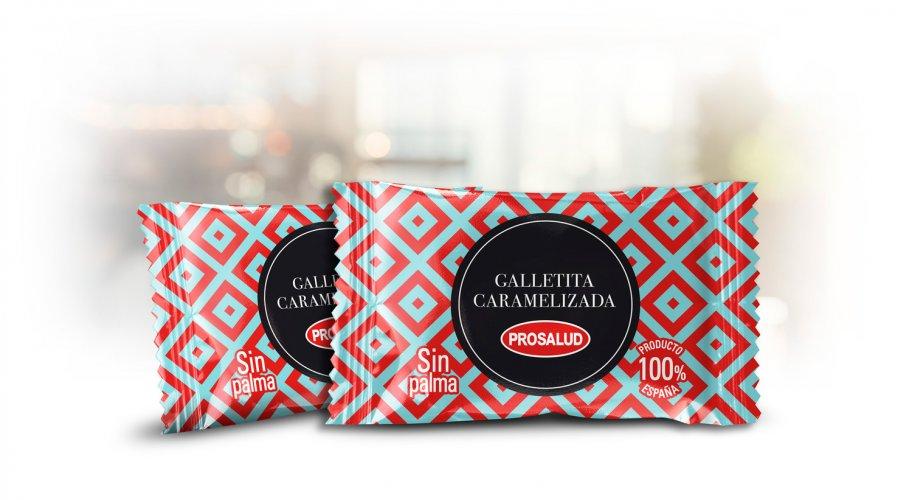 Galletita caramelizada de Prosalud Empacke