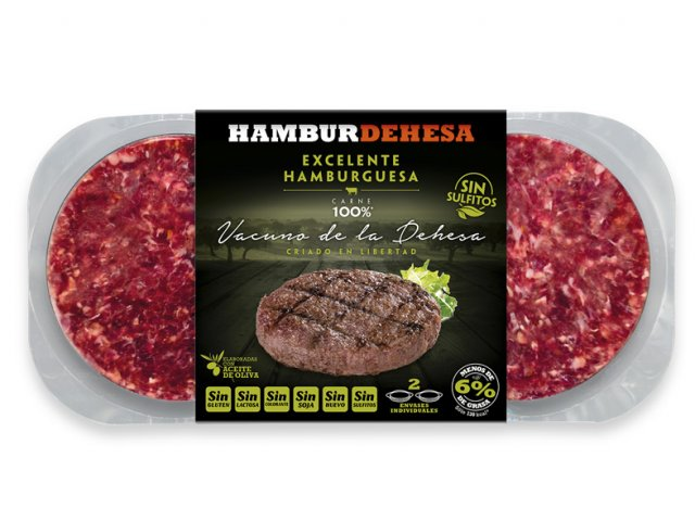 Hamburguesa sin sulfitos