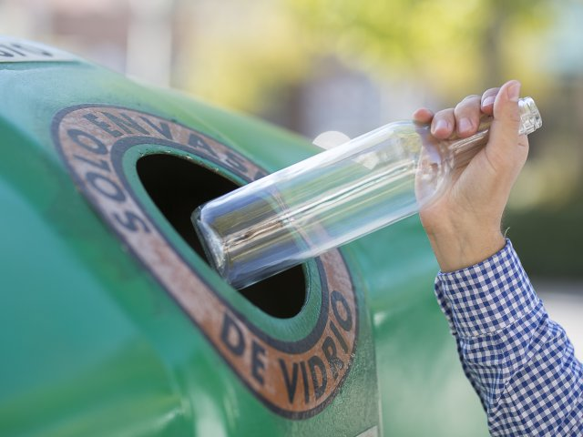 reciclaje de envases de vidrio