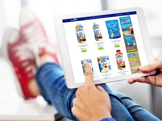 diseño de tienda online de alimentación